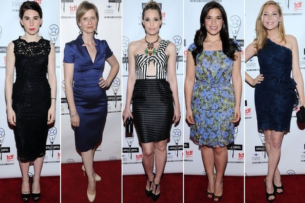 Best Dressed at the 28th Annual Lucille Lortel Awards 2013