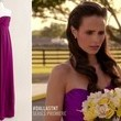 Jordana Brewster's Bridesmaid Dress on 'Dallas'