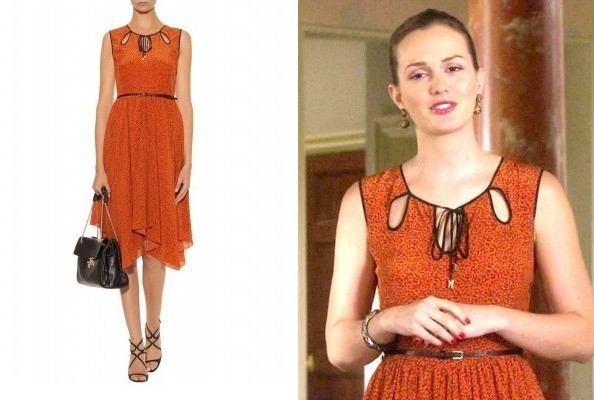 Leighton Meester's Jason Wu Dress on 'Gossip Girl'