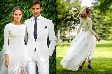 Olivia Palermo's Chic Wedding Ensemble