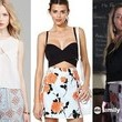Sasha Pieterse's White Blouse and Floral Skirt on 'Pretty Little Liars'
