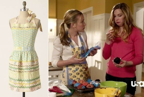 Piper Perabo's Darling Apron on 'Covert Affairs'