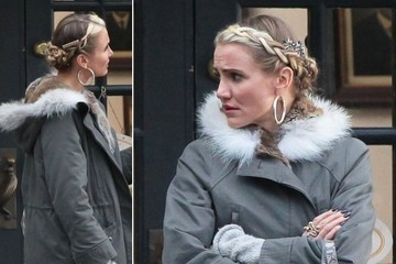 Cameron Diaz—A.K.A. Miss Hannigan—Is Rocking Some Seriously Stylish Strands
