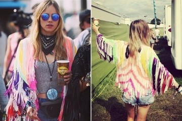 Look of the Day: Suki Waterhouse's Festival Fringe