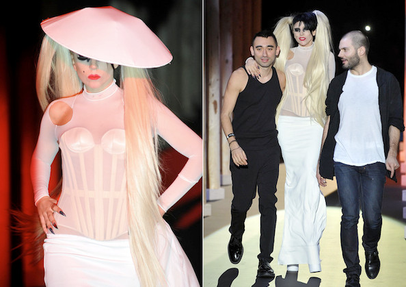 Lady Gaga's $20K Thierry Mugler Dress Fails to Sell on Gilt Groupe