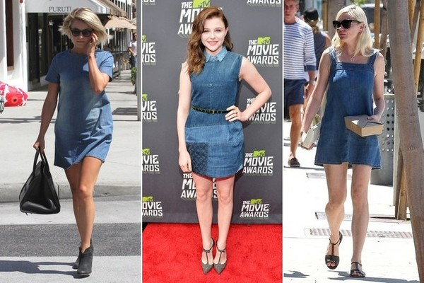 The New Denim Trend Celebs Are All Over