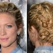 Brittany Snow's Intricate Braids