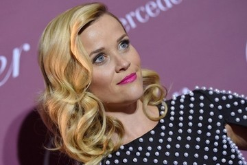 Look of the Day: Reese Witherspoon's Pearl-Detailed Dress