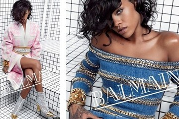 Rihanna for Balmain, Miranda for ShopStyle, Casting Call for DVF and a Recycled Oufit for Our First Lady