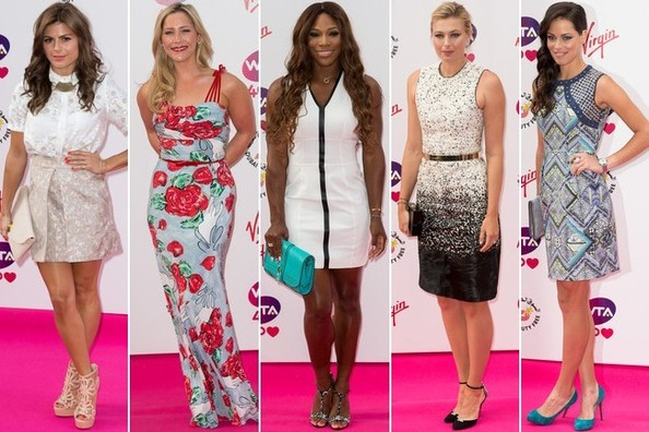 Best Dressed at the Pre-Wimbledon Party