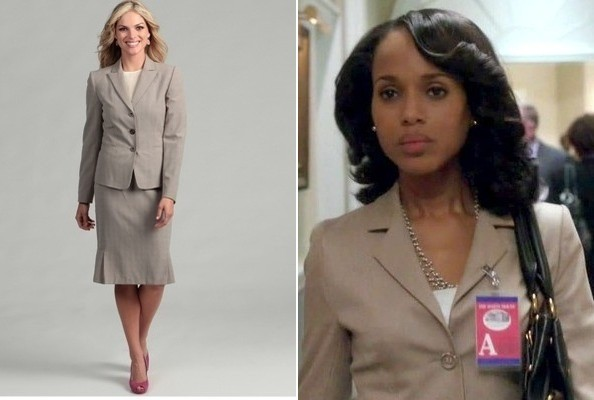 A Fitted Suit Jacket Like Kerry Washington's on 'Scandal'
