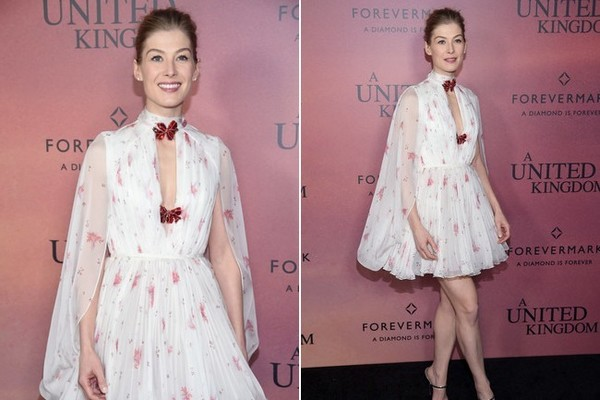 Look of the Day: February 7th, Rosamund Pike