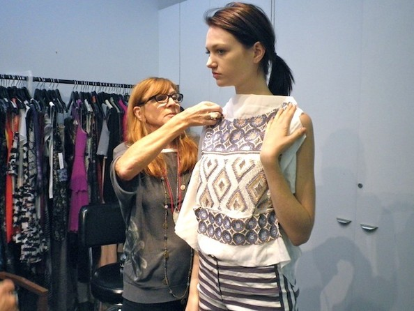 Behind the Scenes - The SS13 Nicole Miller Fitting