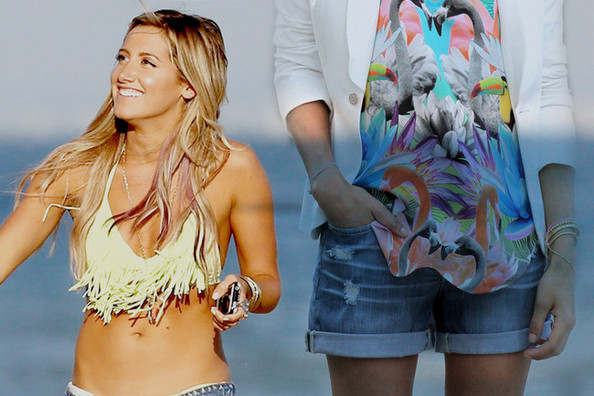 10 Ways to Rock Jean Shorts