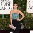 Olivia Munn Wears Giorgio Armani at the 2013 Golden Globes