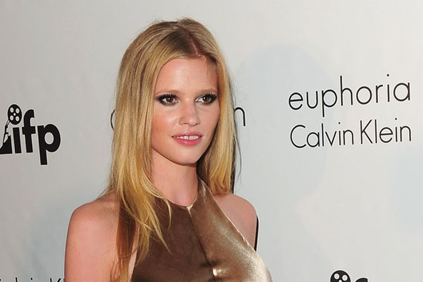 Lara Stone Gets 'Naked' for Calvin Klein