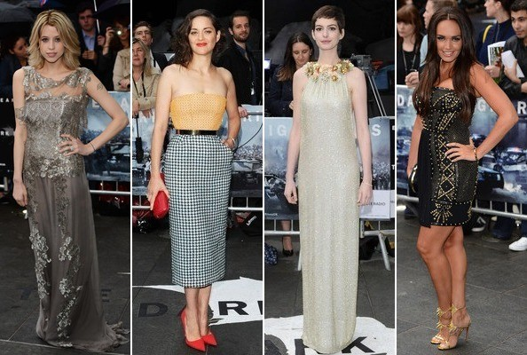 Best & Worst Dressed - 'The Dark Knight Rises' London Premiere