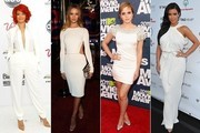 Celebrities Heat up in Summer Whites