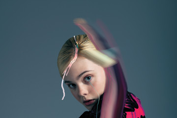 Elle Fanning on Working With Angelina Jolie and Being a Normal Teenager