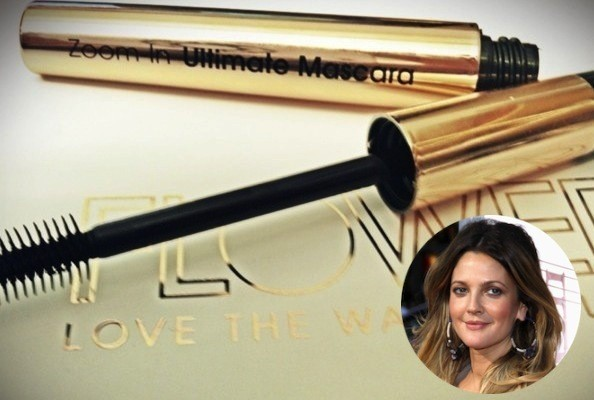 Drew Barrymore's New Flower Mascara Is Three Wands in One [VIDEO]