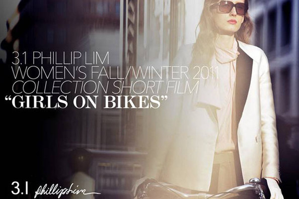 Phillip Lim Short Film 'Girls on Bikes' Flaunts Fall 2011 Collection
