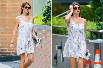 Found: Ashley Greene's Sweet Slip Dress
