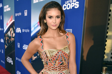 Nina Dobrev's Gorgeous Beaded Dress