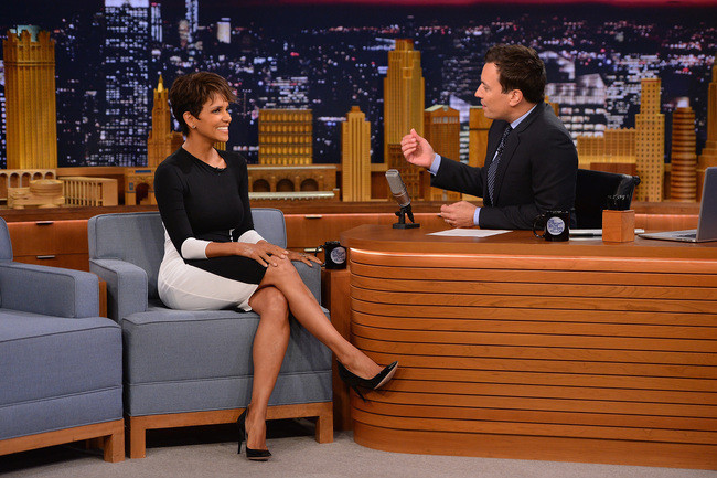 Found: Halle Berry's Black and White Dress