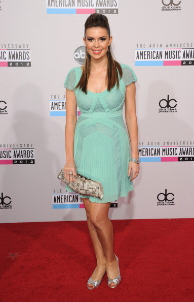 Carly Steel at the 2012 AMAs