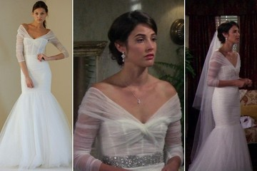 Cobie Smulders's Wedding Gown on 'How I Met Your Mother'