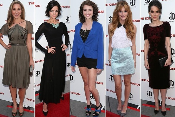Best Dressed at 'The Iceman' Special Screening in Los Angeles
