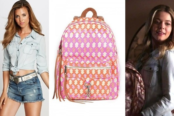 Pretty Little Liars Backpack October 2017