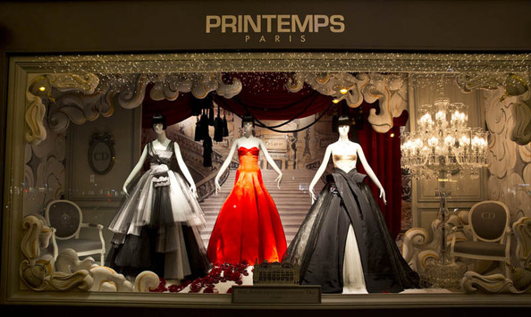 Dior + Printemps = A Very Parisian Christmas