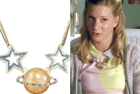 Heather Morris' Orbital Star Necklace on 'Glee'