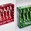 Bacon and Pickle Flavored Candy Canes