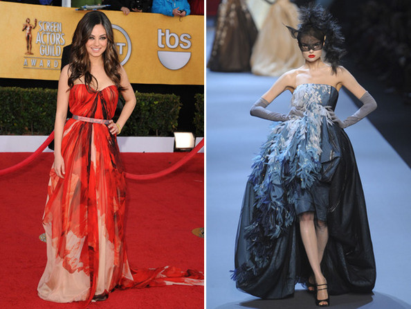 Mila Kunis Oscars Dress Prediction