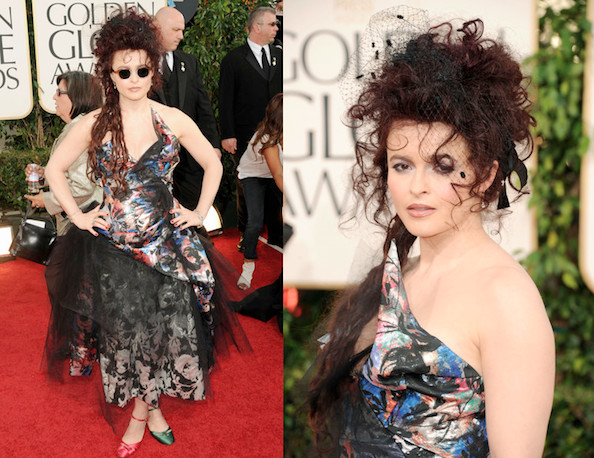 Helena Bonham Carter's Oscars Gown: Probably a 'Catastrophe'