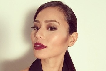 Jamie Chung Puts on a Dark Pout