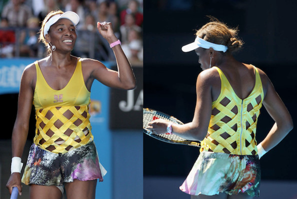 Venus Williams' Australian Open Dress Inspired by 'Alice in Wonderland'