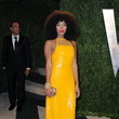 Solange Knowles Wore Emilio Pucci at the Vanity Fair Oscars Party 2013