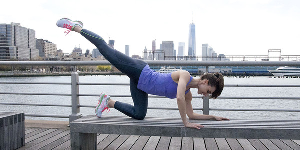 Summer Body Workout: Three Moves for Toned Legs