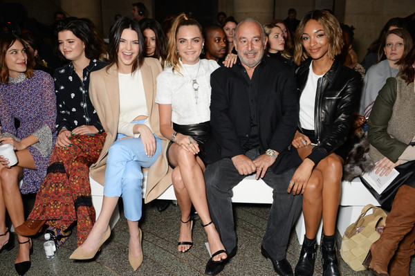 The Best Front Row Fashions at London Fashion Week Fall 2015