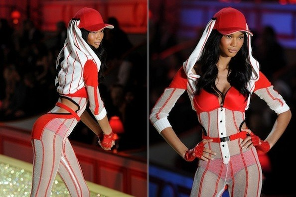 How Chanel Iman Keeps Her Svelte Figure