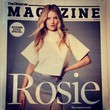 Rosie Huntington-Whiteley Covers 'The Observer'
