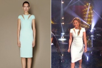 Jennifer Lopez is Pretty in Pastels on 'American Idol'