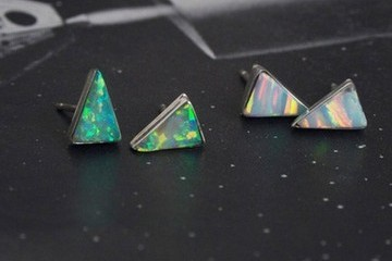 Yes Please: Erica Weiner Isosceles Opal Earrings