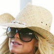 Victoria Silvstedt's hat