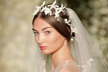 The Best Beauty Looks from Bridal Fashion Week Fall 2015