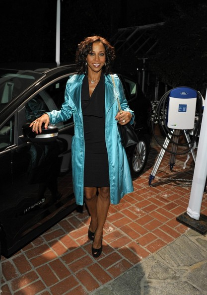 Holly Robinson Peete at the Stella McCartney LA Holiday Party
