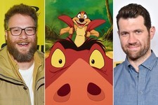 Seth Rogen and Billy Eichner to Team Up as Timon & Pumbaa in Live-Action 'Lion King'